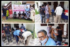 Bark India team in vaccination camp